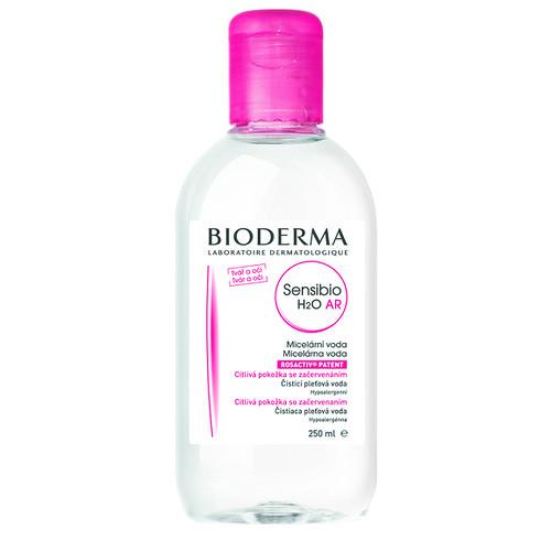 Bioderma Sensibio AR H2O, čistící a odličovací micelární voda na citlivou pleť 250 ml