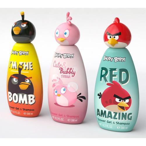 EP Line Disney Angry Birds šampon 2 v 1 pro děti 300 ml Cute & Bubbly Stella