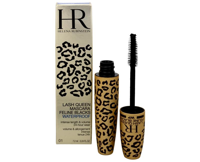Helena Rubinstein Luxusní voděodolná řasenka (Lash Queen Mascara Feline Blacks Waterproof) Deep Black 7 ml