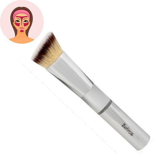 Sefiros Silver šikmý štětec na make-up