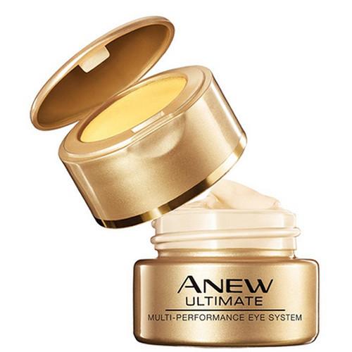 Avon Anew 2-fázová omlazující péče o oční okolí Ultimate Multi-Permofmance 15 ml + 2,5 g