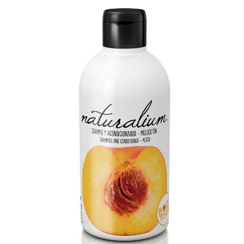 Fotografie Naturalium šampon a kondicionér Broskev 400 ml