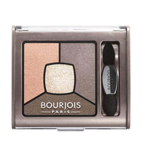Fotografie Bourjois Smoky Stories paleta kouřových očních stínů odstín 12 Sau Mondaine 3,2 g