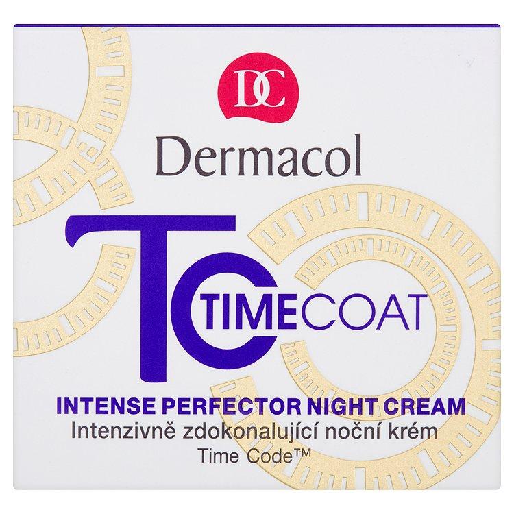 Dermacol Time Coat Intenzivně zdokonalující noční krém 50ml