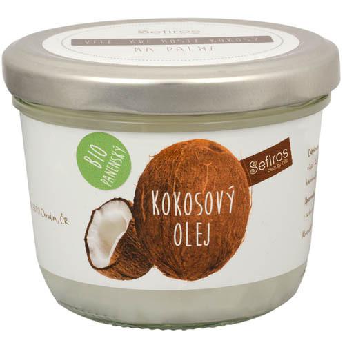 Fotografie Sefiros kokosový olej BIO panenský 180 ml