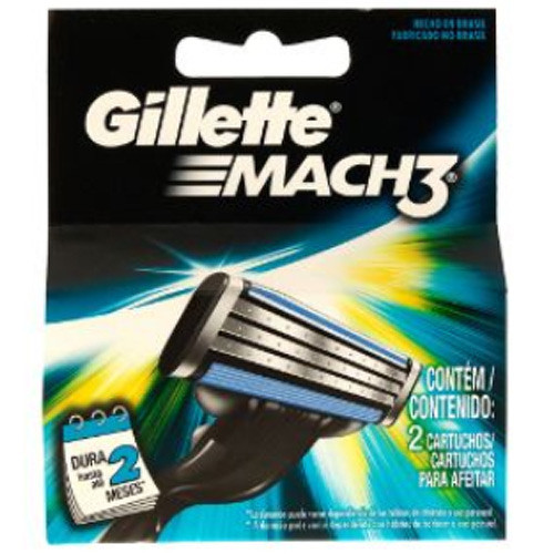 Náhradní hlavice Gillette Mach3 2 ks