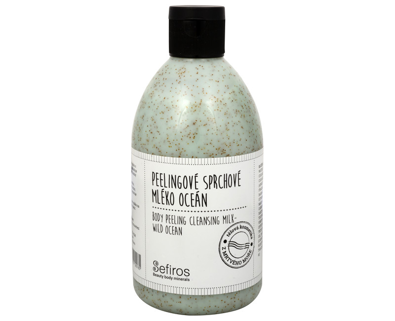 Sefiros peelingové sprchové mléko oceán 500 ml