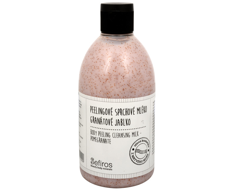 Sefiros peelingové sprchové mléko granátové jablko 500 ml
