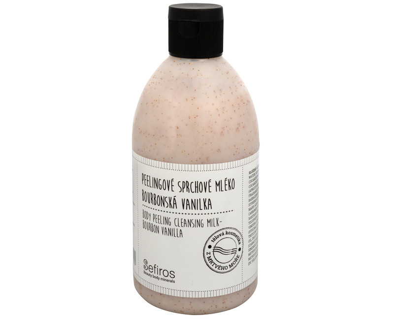 Sefiros peelingové sprchové mléko bourbonská vanilka 500 ml