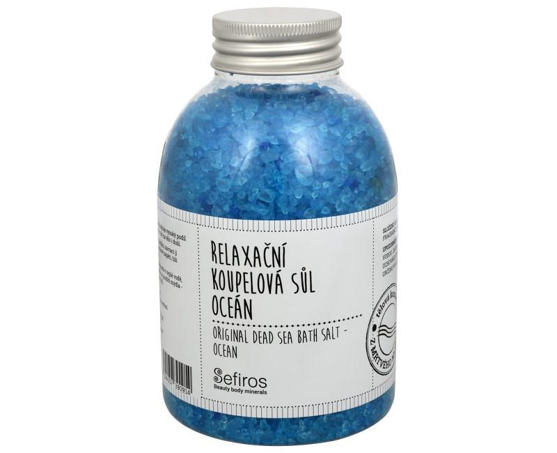 Sefiros relaxační koupelová sůl oceán 500 g
