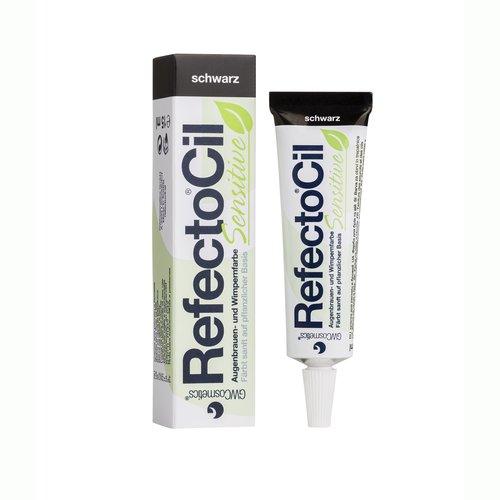 RefectoCil barva na řasy a obočí Sensitive Černá