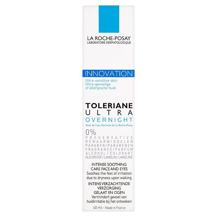 La Roche Posay Toleriane, noční intenzivní zklidňující péče na obličej a krk 40 ml