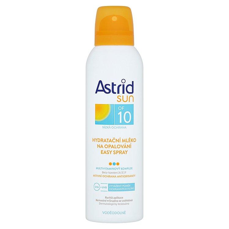 Astrid Sun hydratační mléko na opalování easy spray OF 10 150 ml