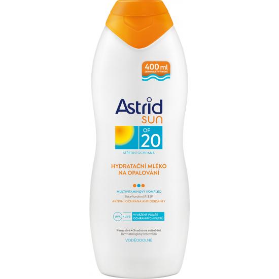 Astrid Sun hydratační mléko na opalování OF 20 400 ml