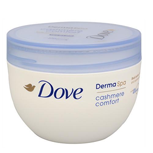 Fotografie Dove Tělové máslo pro suchou pokožku Derma Spa Cashmere Comfort 300 ml