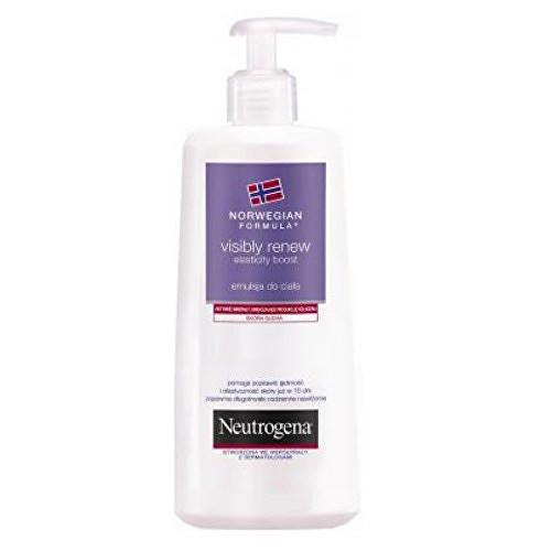 Neutrogena Visibly Renew tělové mléko obnovující pružnost pro suchou pokožku 250 ml