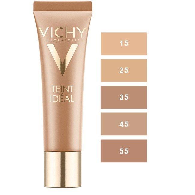 Vichy Teint Idéal rozjasňující krémový make-up odstín 15