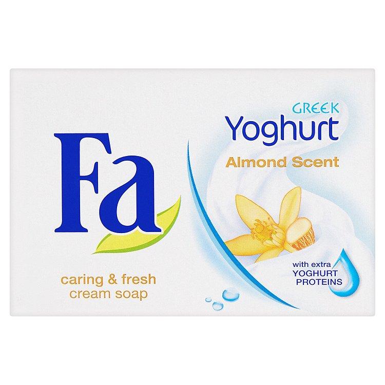Fotografie Fa Greek Yoghurt Almond toaletní mýdlo 90 g