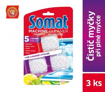Fotografie Somat čistič myčky na nádobí 3 x 20 g