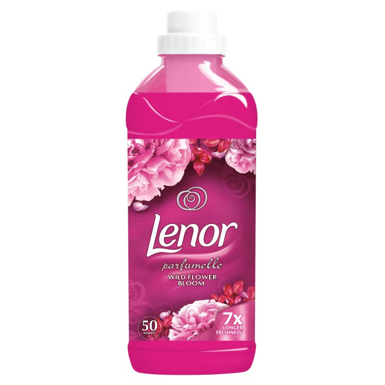 Lenor aviváž Wild Flower Bloom, 50 praní 1,5 l