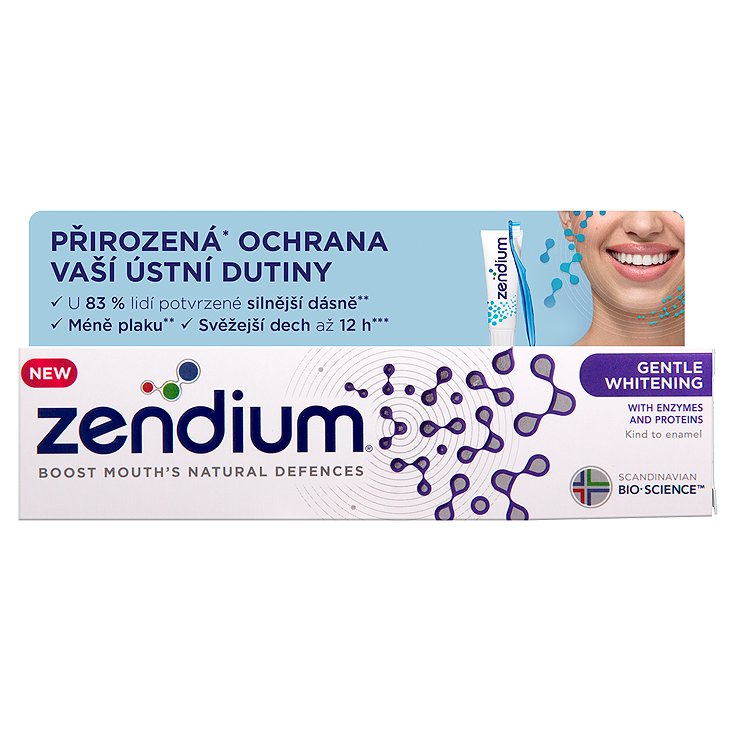 Zendium zubní pasta Gentle Whitening 75 ml
