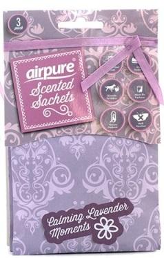 Airpure - vonné sáčky s vůní Levandule 3 ks/bal.
