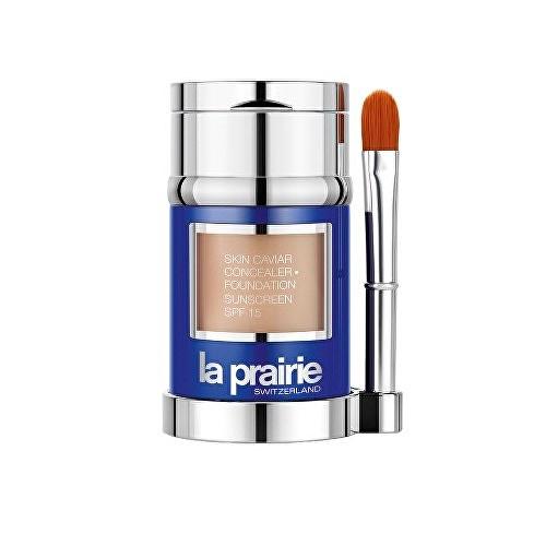 La Prairie, luxusní tekutý make-up s korektorem Peche