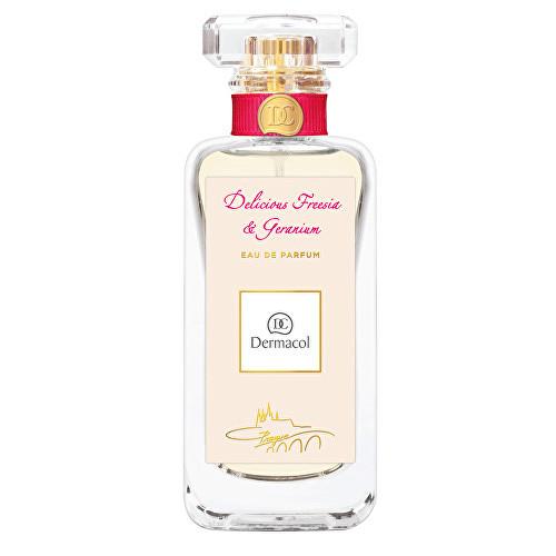 Fotografie Dermacol Delicious Freesia & Geranium parfémovaná voda pro ženy 50 ml