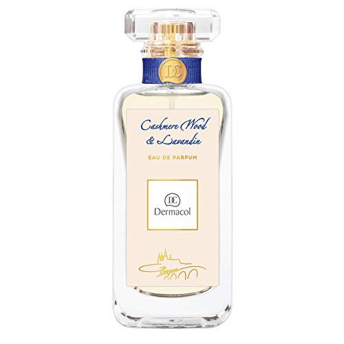 Fotografie Dermacol Cashmere Wood & Lavandin parfémovaná voda unisex 50 ml
