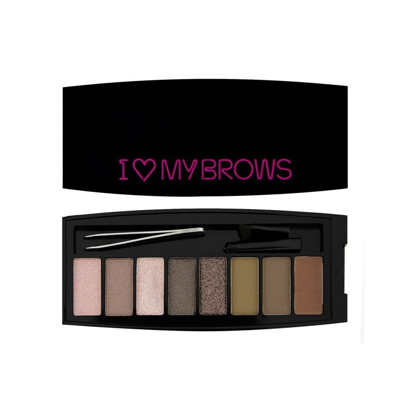 Makeup Revolution Paletka na obočí Ultimate I Love My Brows