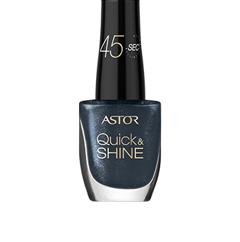Astor Quick & SHINE, lak na nehty 602 Lady in Black