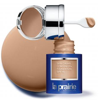 Fotografie La Prairie, luxusní tekutý make-up s korektorem Honey Beige