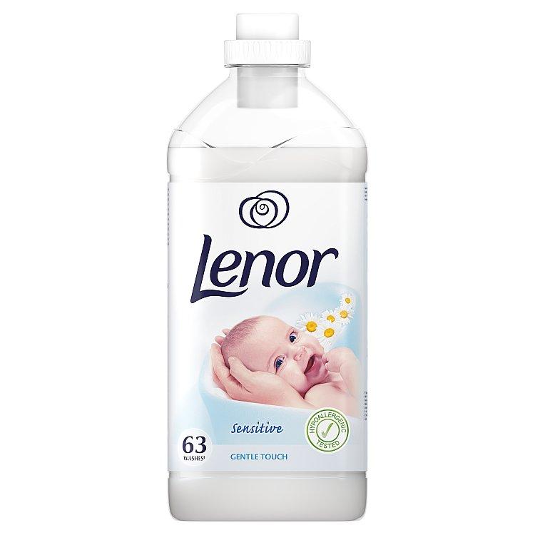 Lenor aviváž Gentle Touch, 63 praní 1,9 l