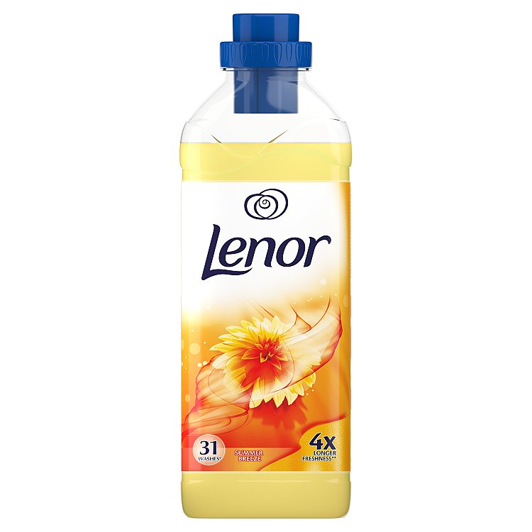 Fotografie Lenor Summer Breeze aviváž 31 dávek 930 ml