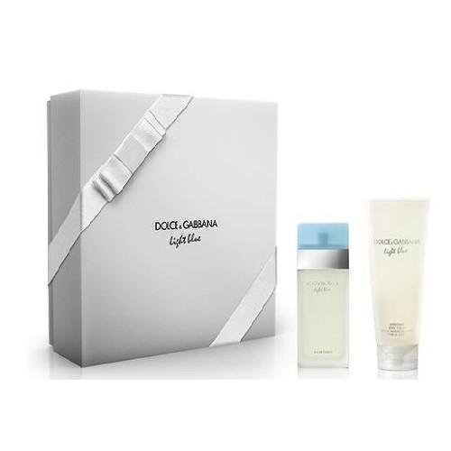 Dolce & Gabbana Light Blue - toaletní voda s rozprašovačeml + tělový krém 50 ml + 100 ml
