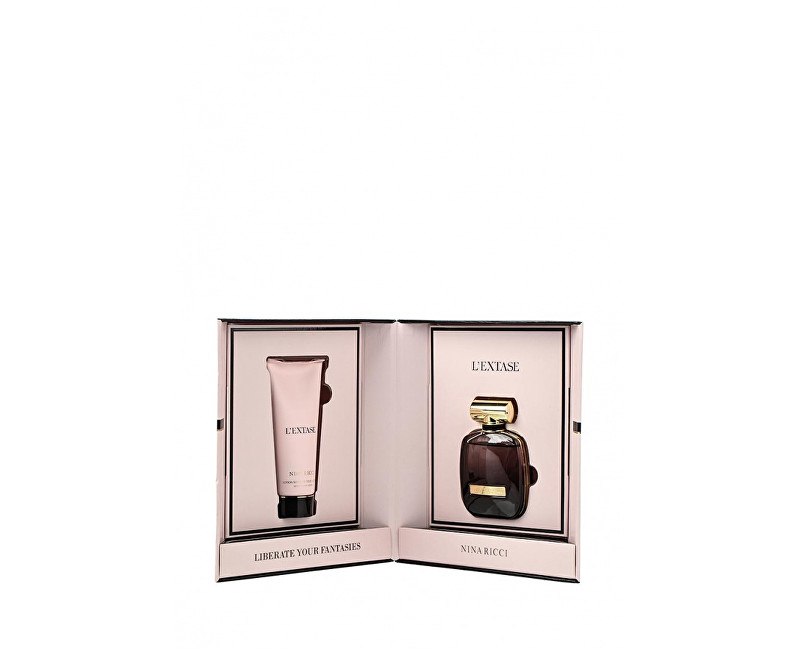 Fotografie Nina Ricci L'Extase dárková sada II. parfémovaná voda 50 ml + tělové mléko 100 ml