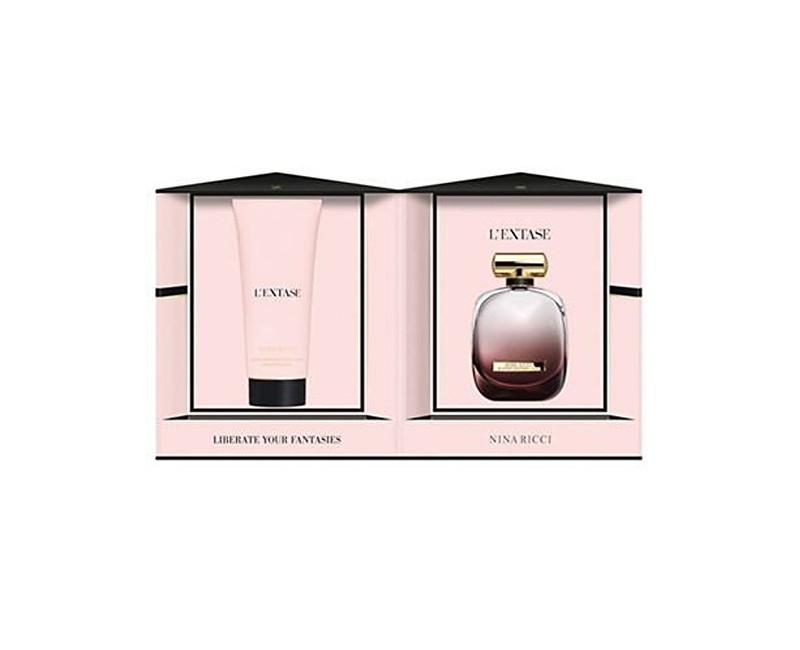 Nina Ricci L´Extase parfémová voda + tělové mléko 80 ml + 200 ml
