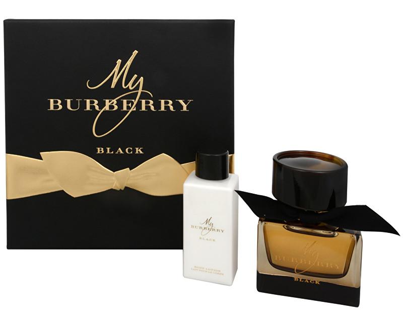 Fotografie Burberry My Burberry Black parfémová voda + tělové mléko 50 ml + 75 ml