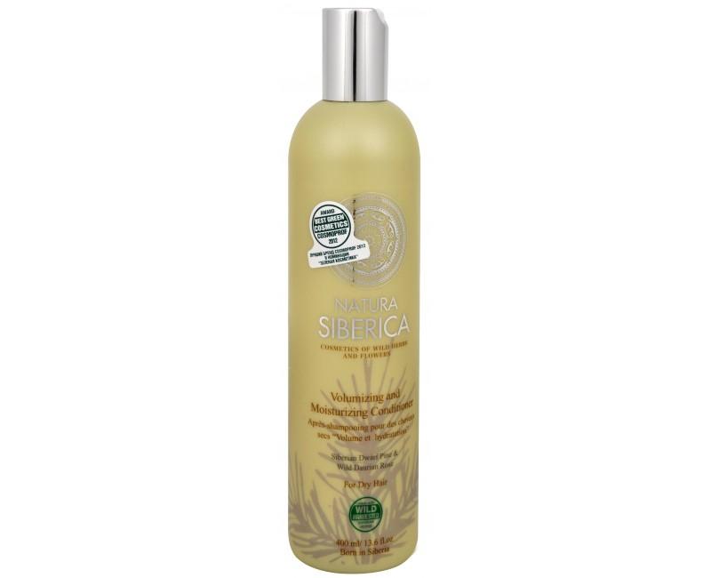 Fotografie Natura Siberica Kondicionér pro suché vlasy - Objem a hydratace (Volumizing and Moisturizing Conditioner) 400 ml