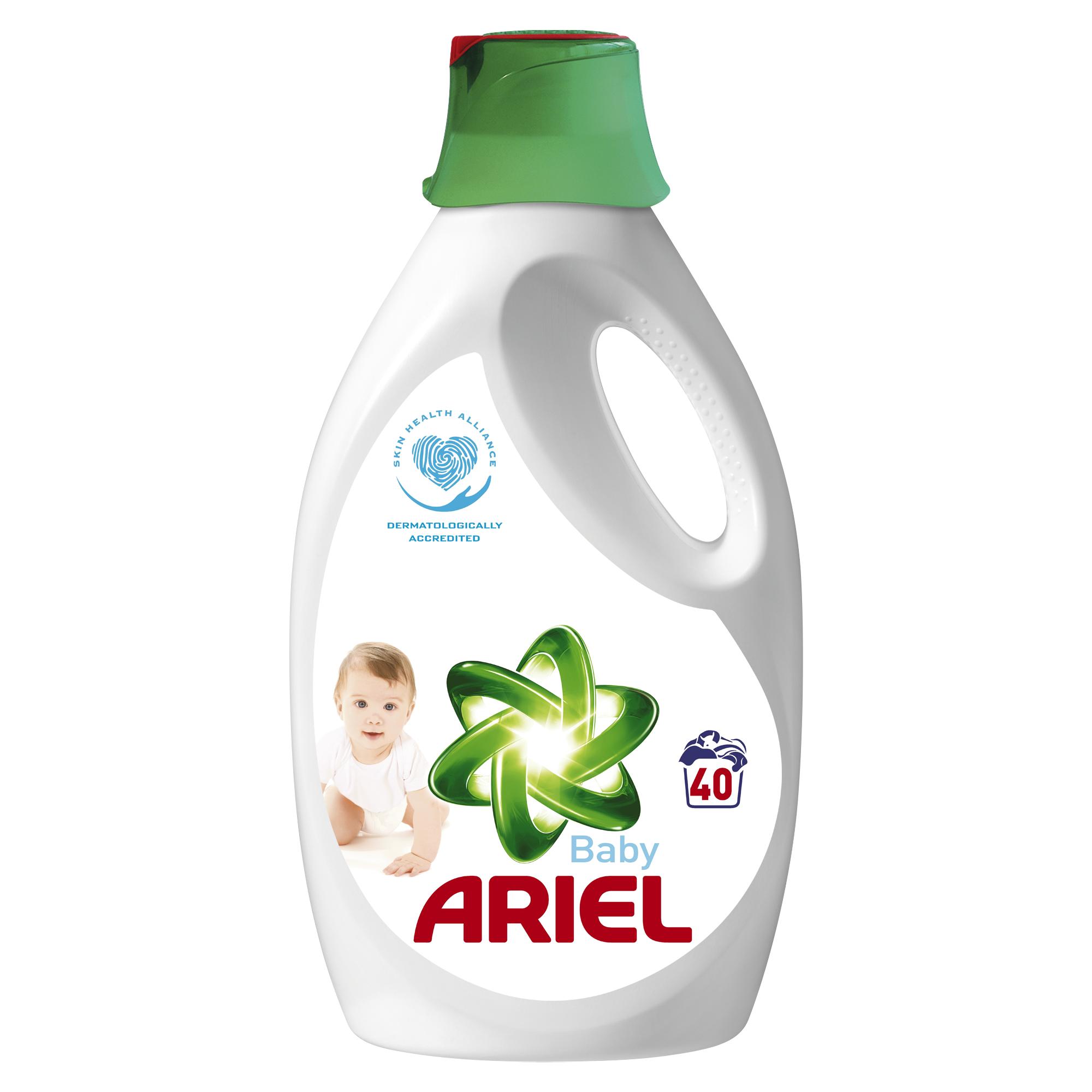 Tekutý prací prostředek Ariel Baby 40 pracích dávek 2,6 l