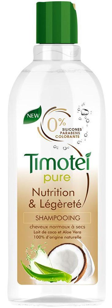 Fotografie Timotei Hydratace a lehkost šampon pro normální až mírně suché vlasy 300 ml