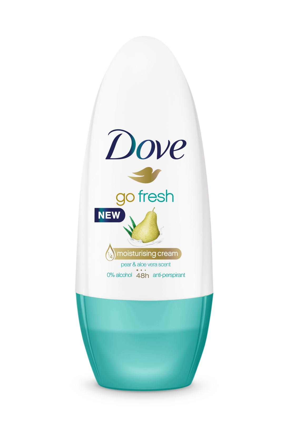 Dove Go Fresh kuličkový antiperspirant hruška a aloe vera 50 ml