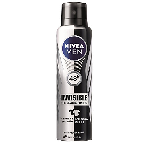 Nivea Men Invisible for Black & White Fresh sprej antiperspirant 150 ml