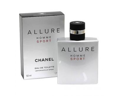 Chanel Allure Homme Sport toaletní voda s rozprašovačem 100 ml