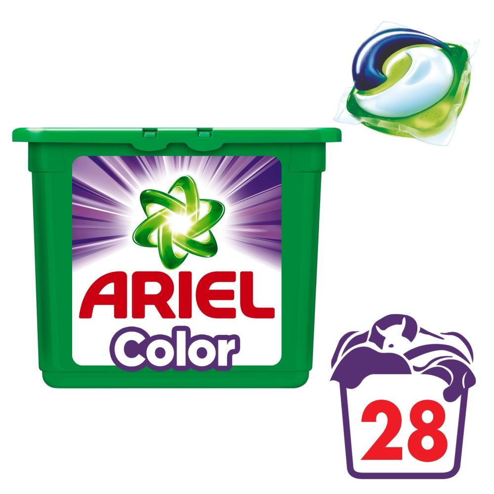 Ariel Color gelové kapsle 28 ks