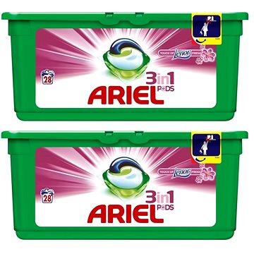 Ariel Touch of Lenor gelové kapsle 56 ks