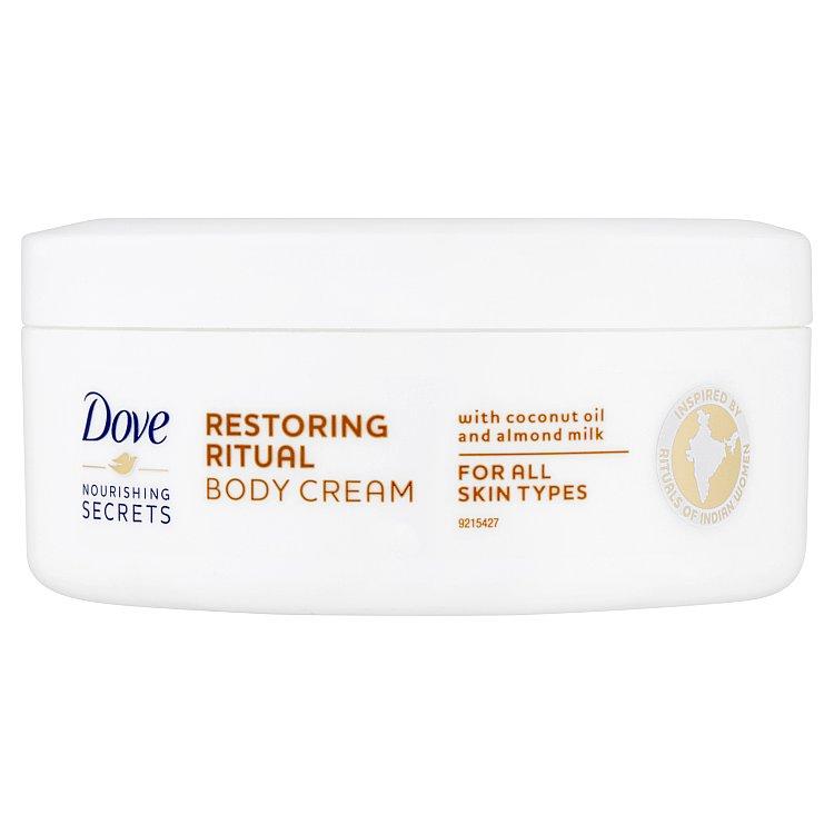 Fotografie Dove Restoring Ritual pečující tělový krém 250 ml