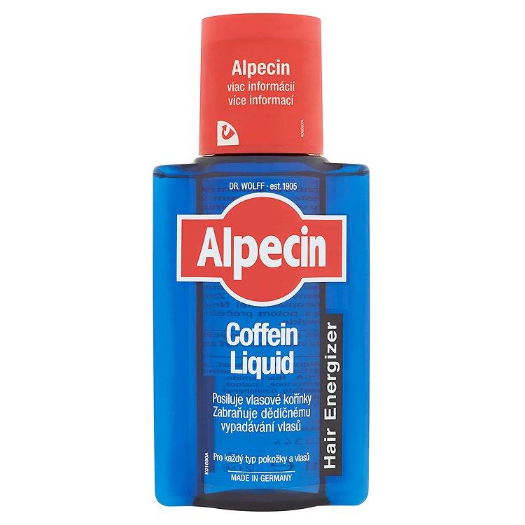 Alpecin Coffein Liquid vlasové tonikum proti vypadávání vlasů 200 ml