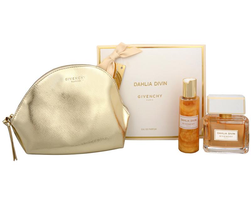 Fotografie Givenchy Dahlia Divin EDP + tělový gel + kosmetická taška 75 ml + 100 ml