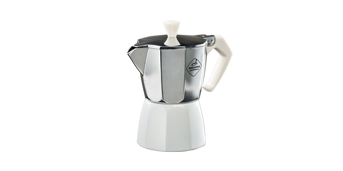 Tescoma PALOMA Colore kávovar 3 šálky, bílá